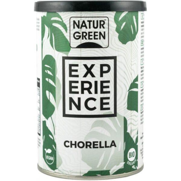 """Pudra BIO de Chlorella """"EXPERIENCE"""" -165 g NATUR GREEN"""