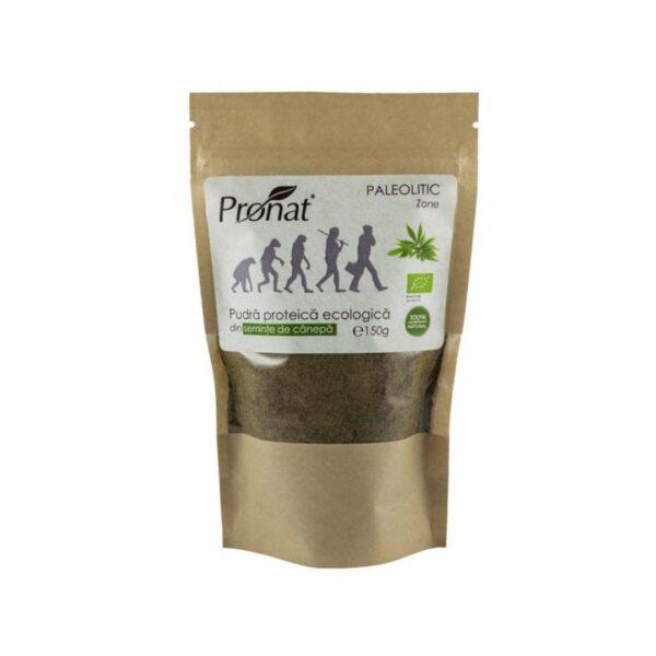 Pudra Proteica BIO din Seminte de Canepa-150 g