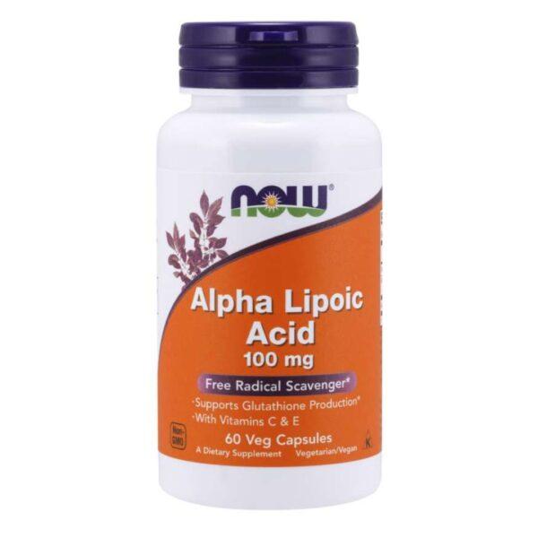 Acid Alfa Lipoic 100 mg-60 capsule