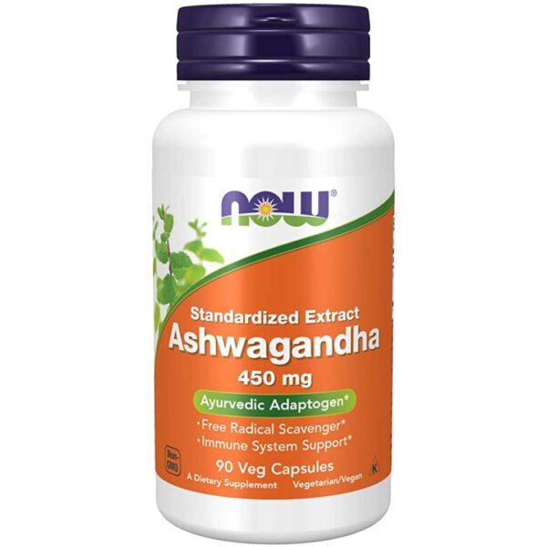 Ashwagandha Extract Ginseng Indian 450 mg-90 capsule