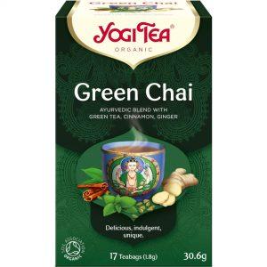 Ceai BIO Verde , Scortisoara si Ghimbir 17 plicuri-30,6 g