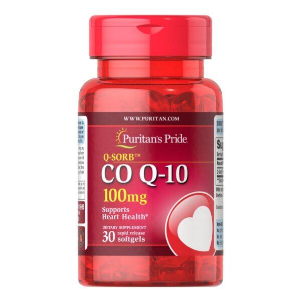 Coenzima Q10 100 mg-30 capsule