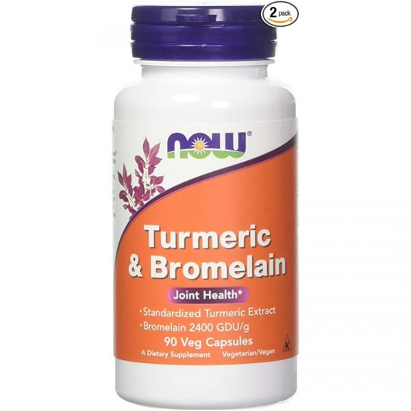 Turmeric cu Bromelaina-90 capsule