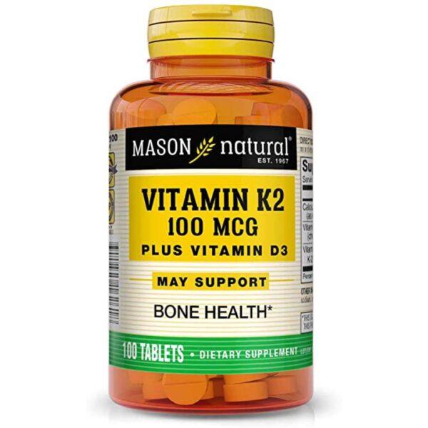 Vitamina K2 plus Vitamina D3-100 comprimate
