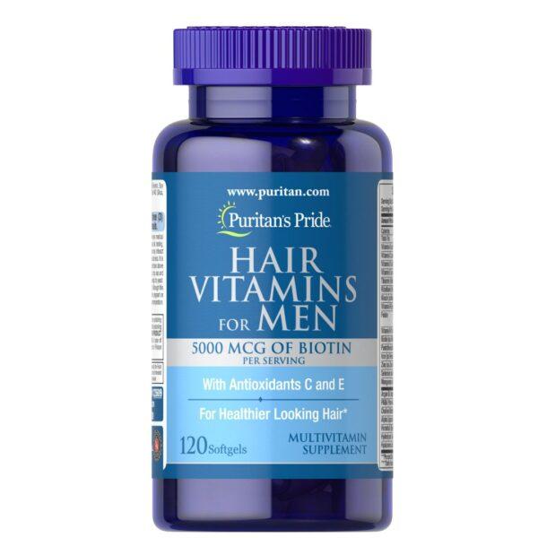Vitamine pentru Par Barbati-120 capsule
