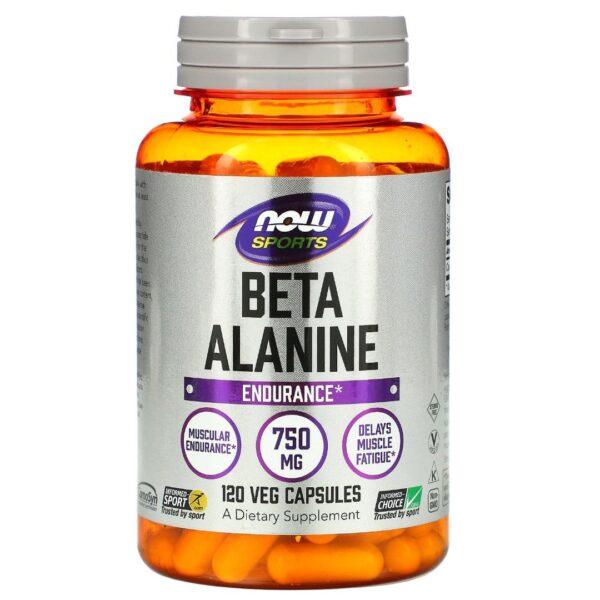 Beta Alanine 750 mg-120 capsule