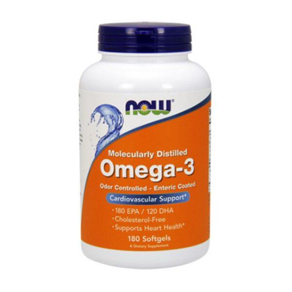 Omega 3 Ulei de Peste 1000 mg-180 capsule