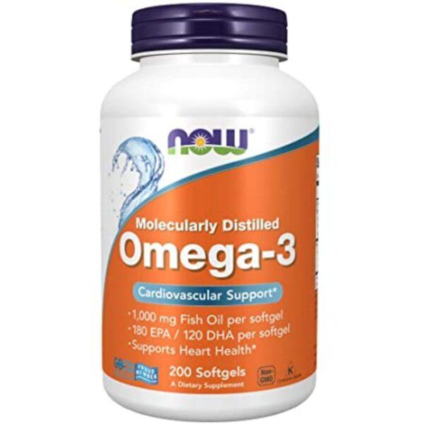 Omega 3 Ulei de Peste 1000 mg-200 capsule