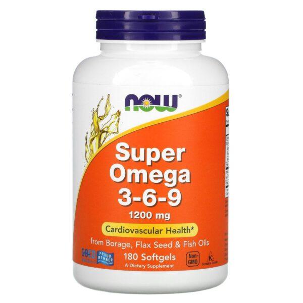 Super Omega 3-6-9 1200 mg-180 capsule