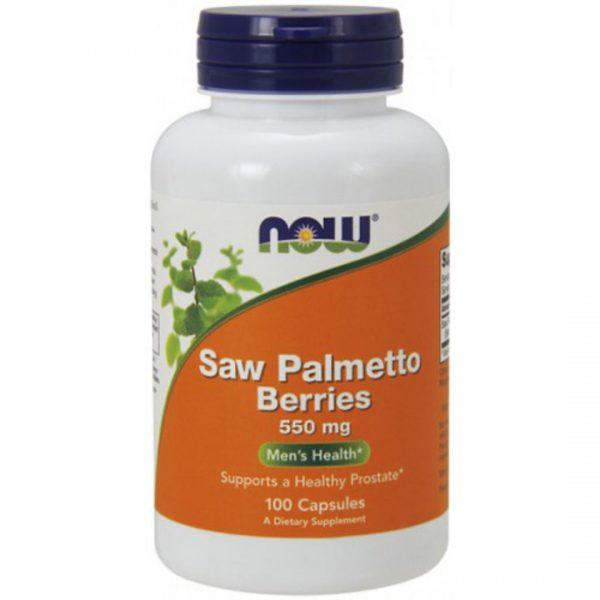 PROSTATA Saw Palmetto 550mg-100 capsule
