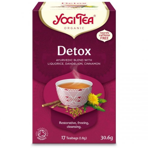 Ceai BIO Detoxifiant 17 Plicuri-30,6 g
