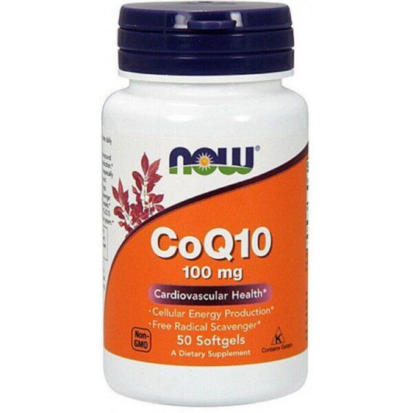 Coenzima Q10 100 mg-50 capsule