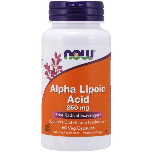 Acid Alfa Lipoic 250 mg-60 capsule