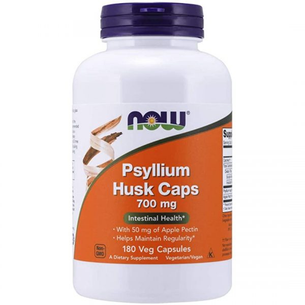Coji de Psyllium cu Pectina-180 capsule