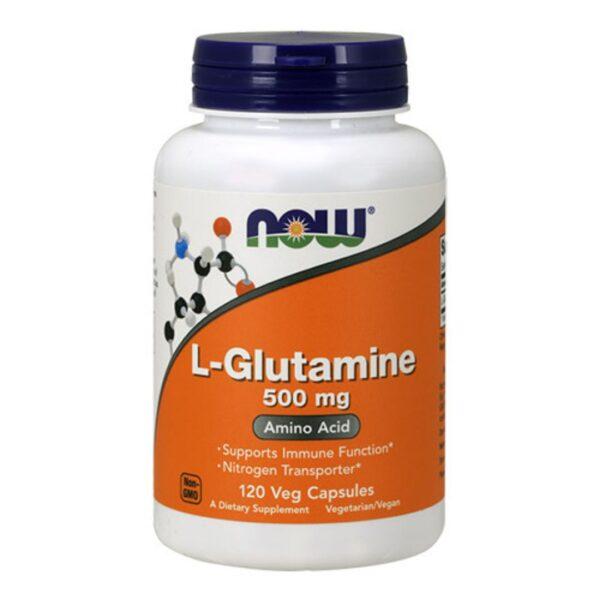L Glutamina 500 mg-120 capsule