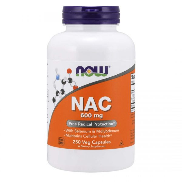 Acetilcisteina NAC 600 mg-250 capsule