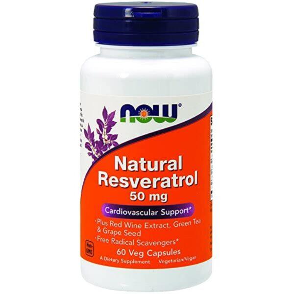 Natural Resveratrol 50 mg-60 capsule