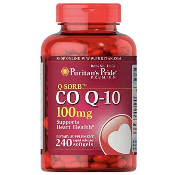 Coenzima Q10 100 mg-240 capsule