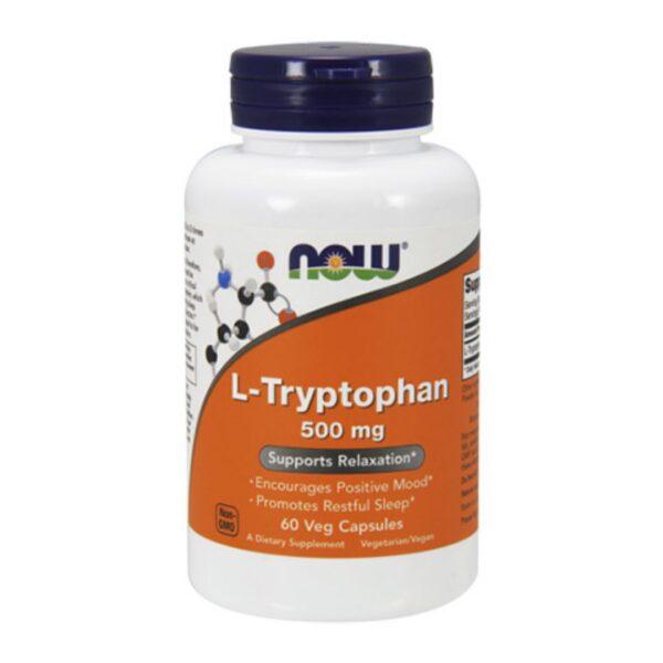 L Triptofan(L-Tryptophan)500 mg-60 capsule