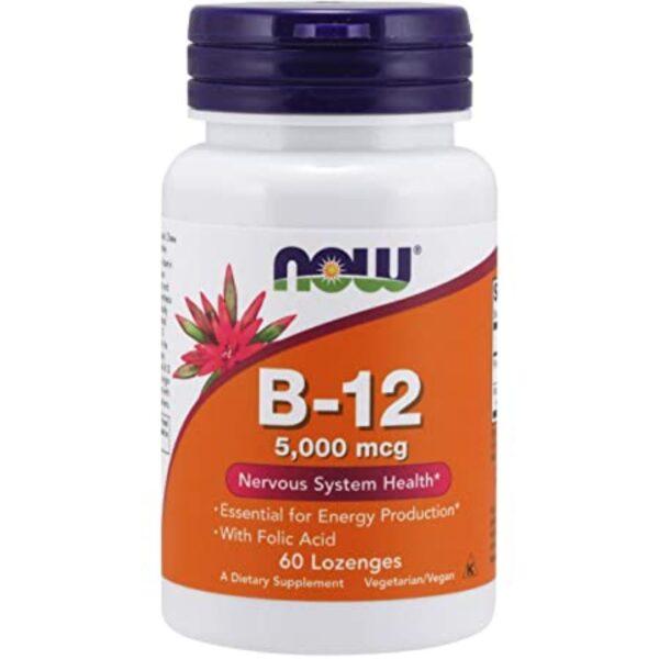 Vitamina B12 cu Acid Folic-60 comprimate masticabile