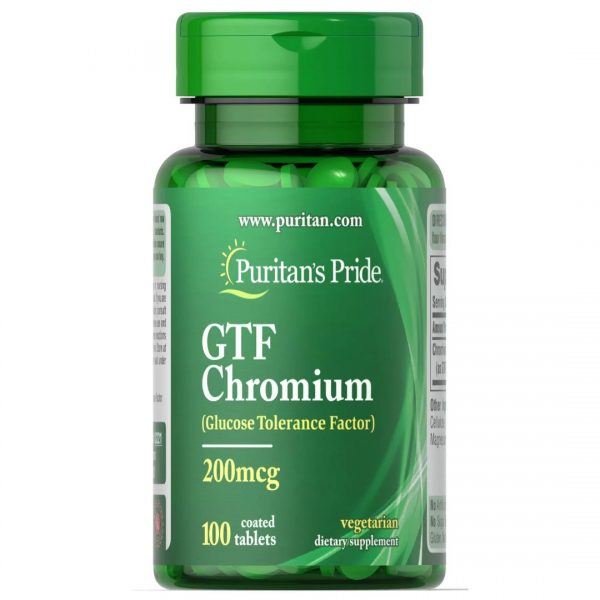 Crom GTF 200 mcg-100 comprimate