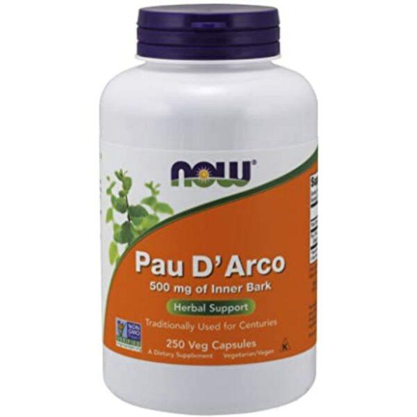 PAU D'ARCO 500 Mg-250 capsule