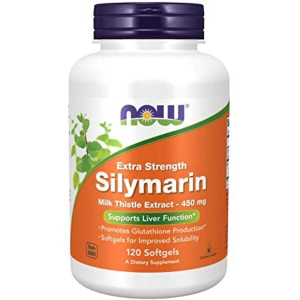 Silimarina 450 mg Milk Thistle-120 capsule