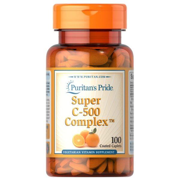 Vitamina C 500 mg Complex-100 comprimate