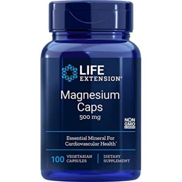 Magneziu 500 mg-100 capsule